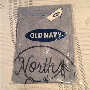 Old Navy Mens Tshirt 3XL light blue